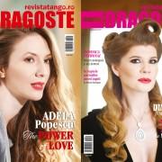 coperte RevistaTango Marea-Dragoste nr.116, cu: Adela Popescu si Diana Matei, februarie-2016