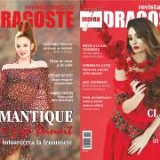 Maria Panait si Claudia Pavel poarta câte o rochie Liza Panait pentru copertele Marea Dragoste-revistatango.ro, nr. 117, martie 2016