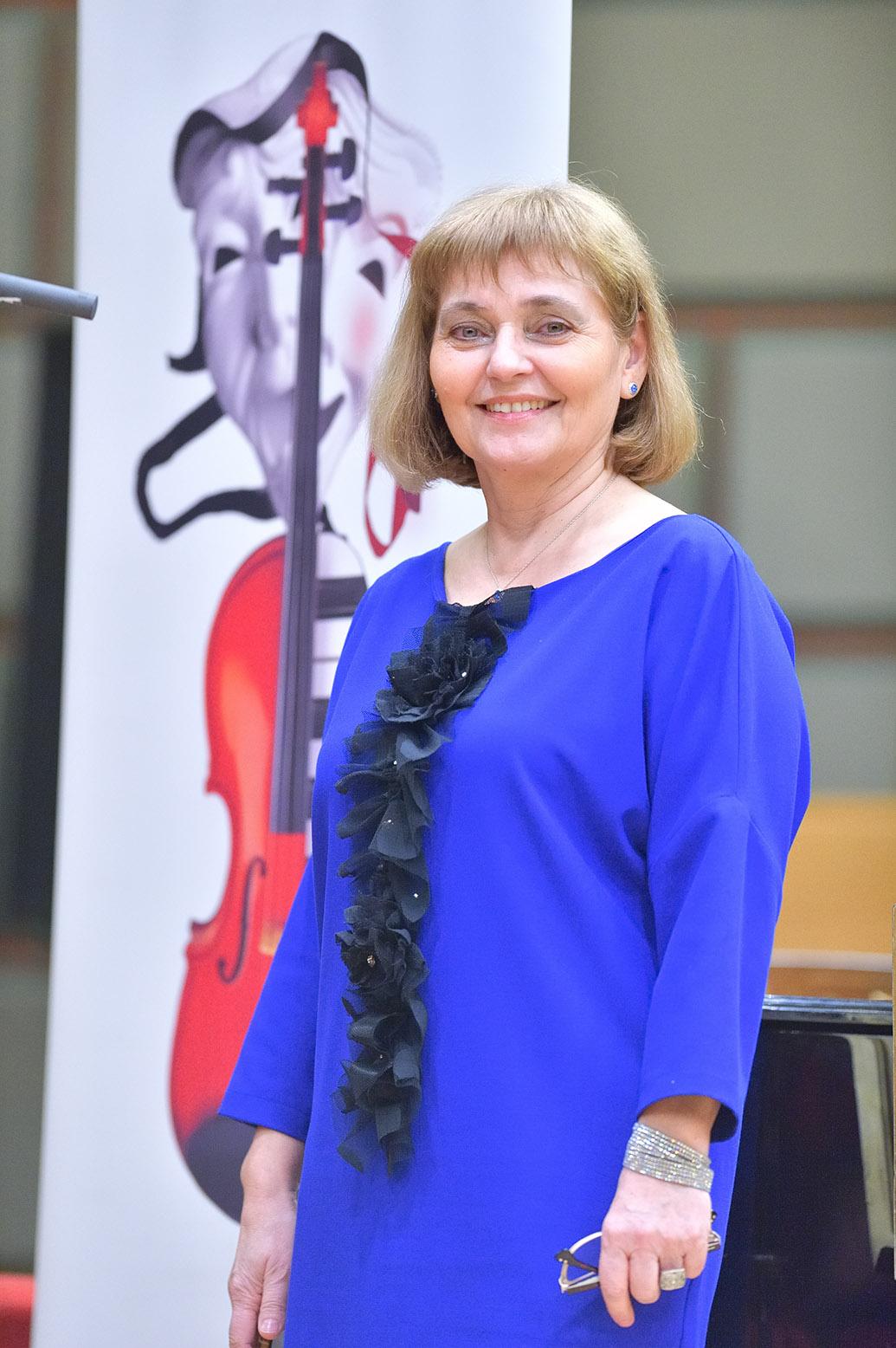 """Gala Lipatti 2016, Venera Babes, directoare Colegiului Național de Arte """"Dinu Lipatti"""""""