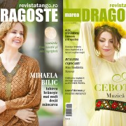 Mihaela Bilic si Ana Cebotari pe copertele Marea Dragoste-revistatango.ro, nr. 119, mai 2016