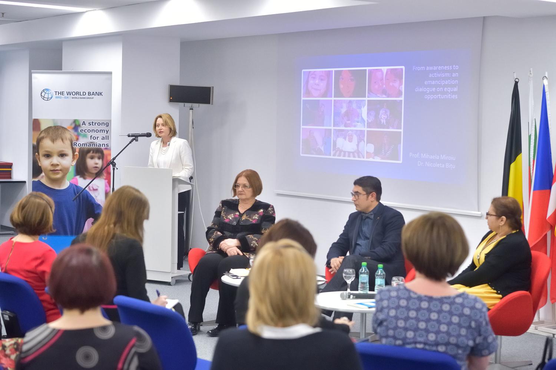 Madalina Mihalache, sefa Biroului de Informare al Parlamentului European in Romania