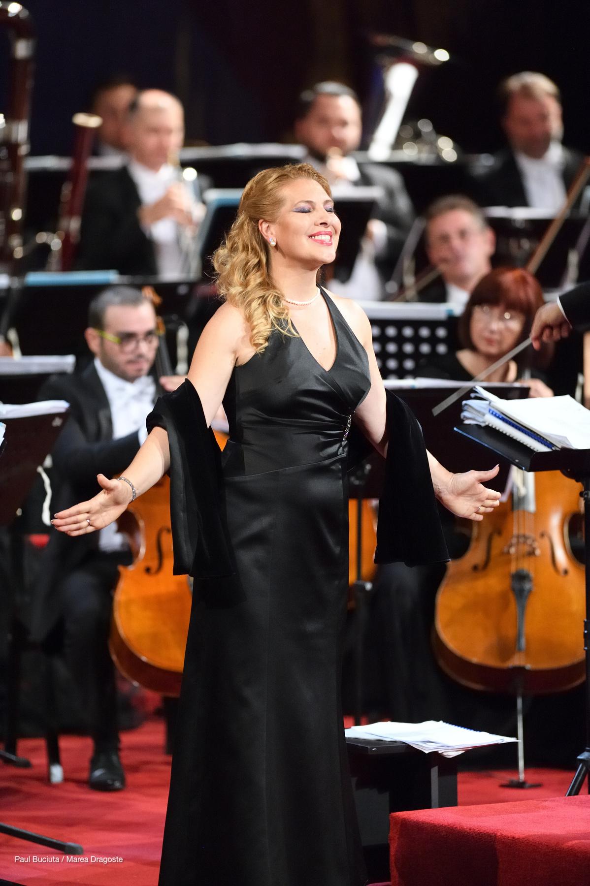 Liliana Mattei Ciucă la Gala Extraordinară de Operă - deschiderea stagiunii 2016-2017 la Opera Nationala București