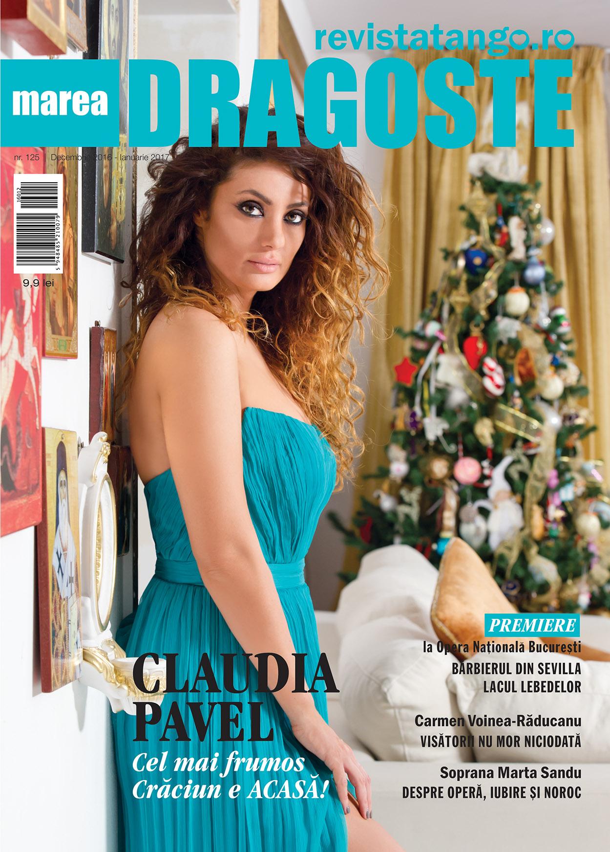 coperta Marea Dragoste-RevistaTango, nr. 125_decembrie 2016-ianuarie 2017_Claudia Pavel