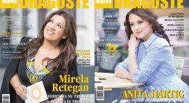 Anita Hartig si Mirela Retegan pe copertele Marea Dragoste-revistatango.ro, nr. 129, mai 2017