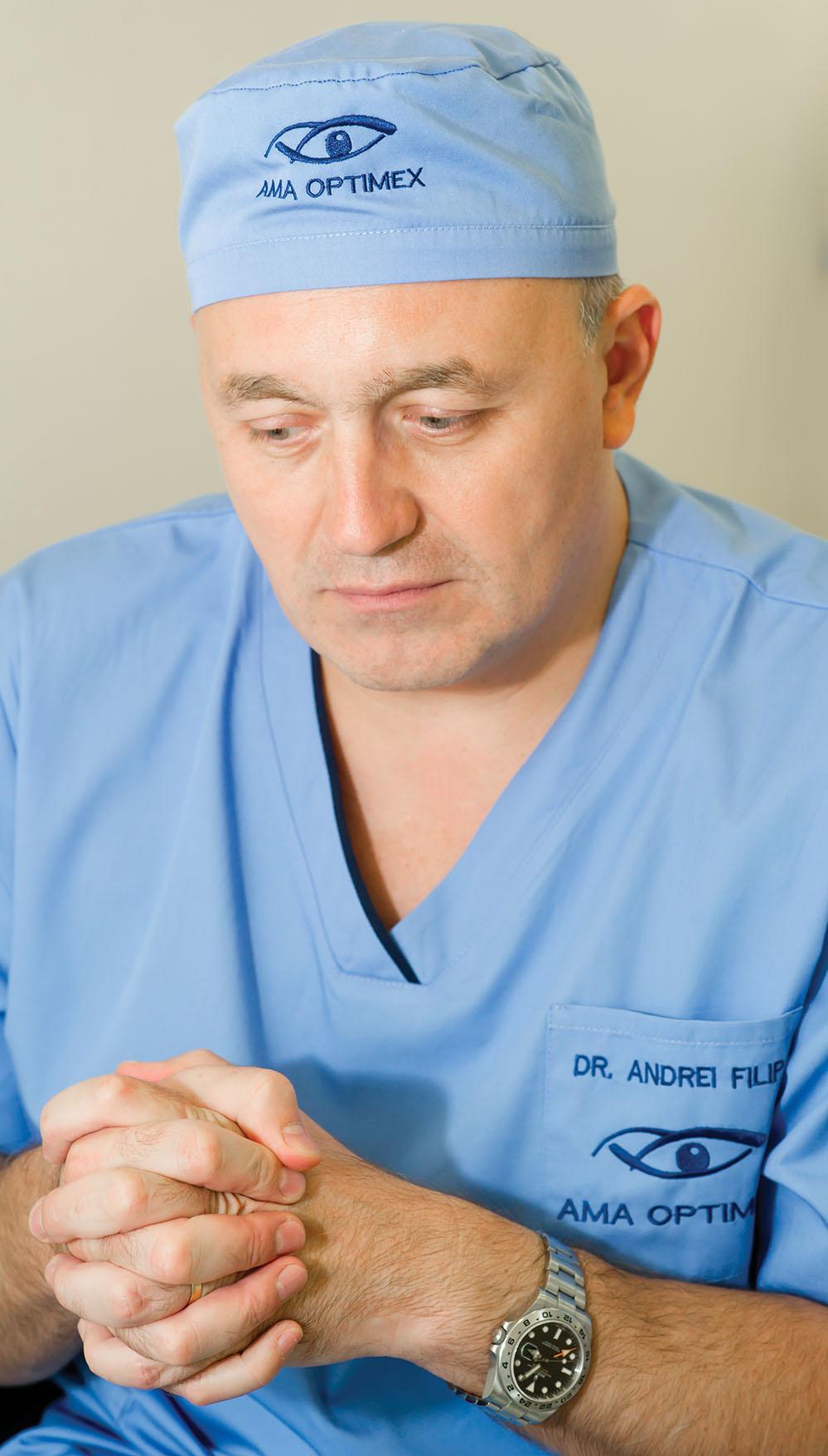 dr. Andrei Filip, clinica Ama Optimex